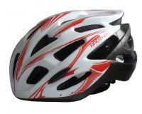 Bílá cyklistická helma velikost XL(60/62cm)