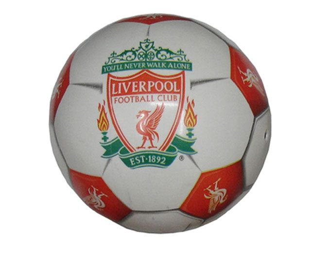 Potištěný míč FOTBALOVÉ KLUBY - odolný
