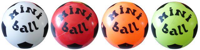Míč potištěný MINI BALL – 140 mm průměr