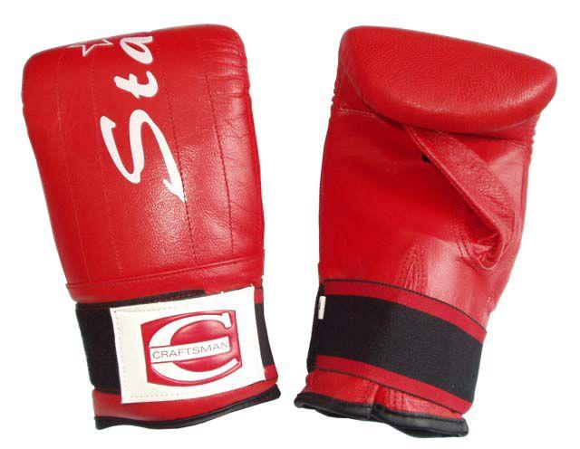 Boxerské kožené rukavice - pytlovky - vel.M