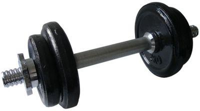 CorbySport Činka nakládací jednoruční - 8,5 kg