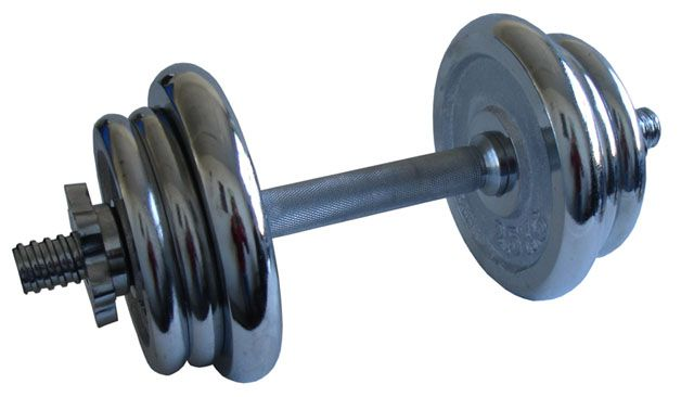Činka nakládací, jednoruční, chromová – 11 kg