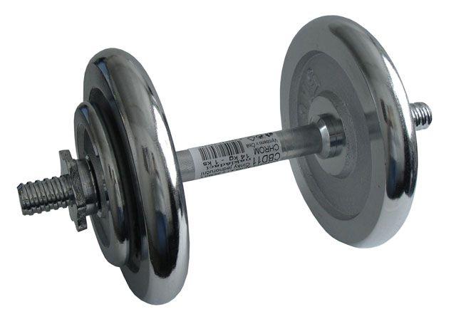 Činka nakládací, jednoruční, chromová – 14 kg