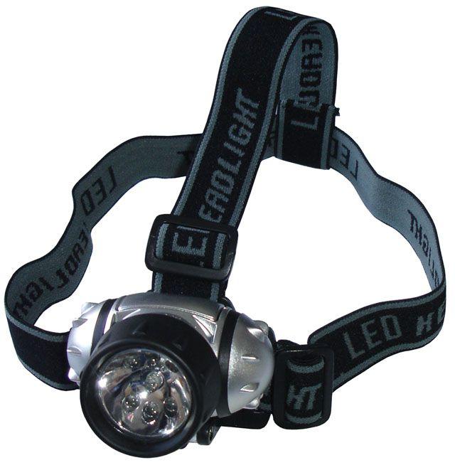 Čelová svítilna - čelovka 7 LED