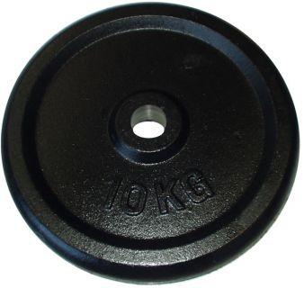 Litinový kotouč (závaží) na činky 10kg- 30 mm
