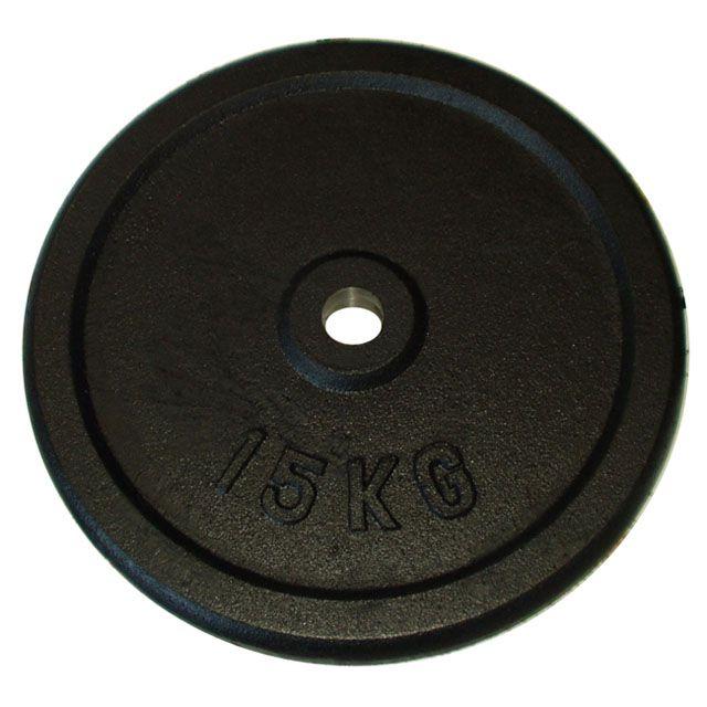 Litinový kotouč (závaží) na činky 15kg-30mm