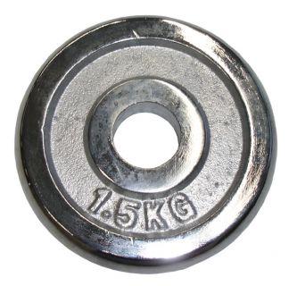 CorbySport Kotouč chrom 1,5 kg - 25 mm