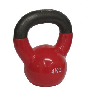 CorbySport Kettlebell Činka vinyl 4 kg