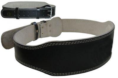 Effea Vzpěračský pás kožený velikost M - 105 cm