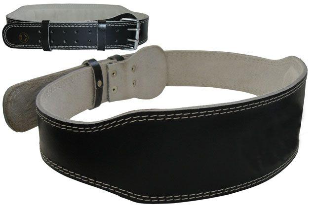 Vzpěračský pás kožený - velikost XL - 120 cm