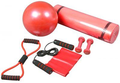 Fitness set (sada) posilovací