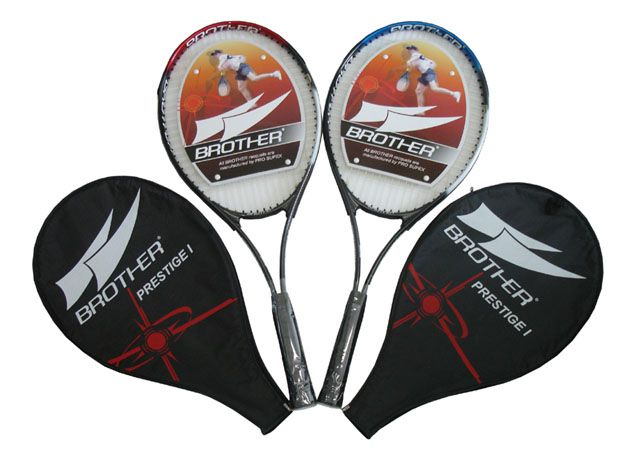 Pálka (raketa) tenisová s hliníkovým rámem
