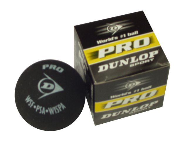 Míček squashový DUNLOP Progress 1 ks
