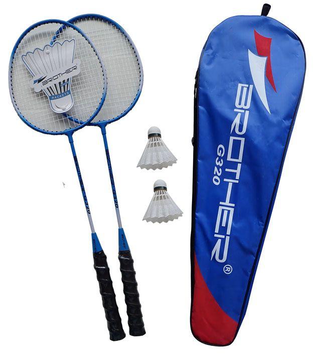 Badmintonová sada 2 pálky + košíček + pouzdro