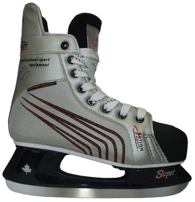 Brusle na hokej - rekreační, vel. 33