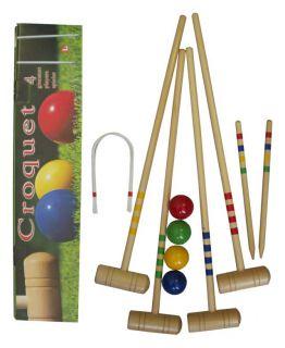 CorbySport Kroket pro 4 hráče