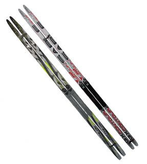 Běžecké lyže s vázáním NNN - 170 cm, hladké