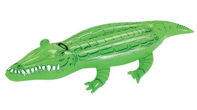 Krokodýl nafukovací 167×89 cm