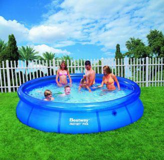 Zahradní bazén samostavěcí 366 x 76 cm