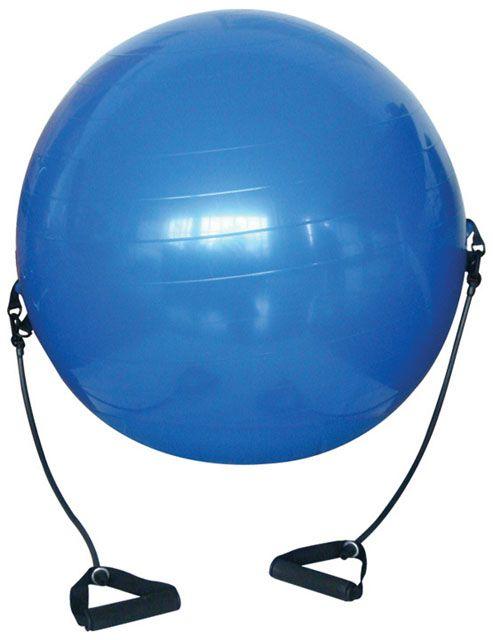 Gymnastický míč s expandéry – 650 mm