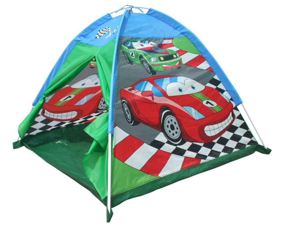 Stan dětský kopule s potiskem cars