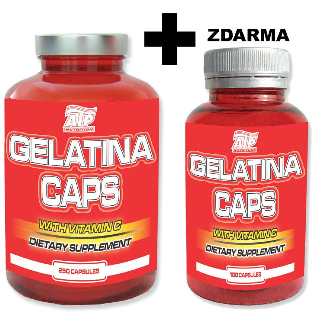 GELATINA CAPS -  250 cps + 100 cps ZDARMA