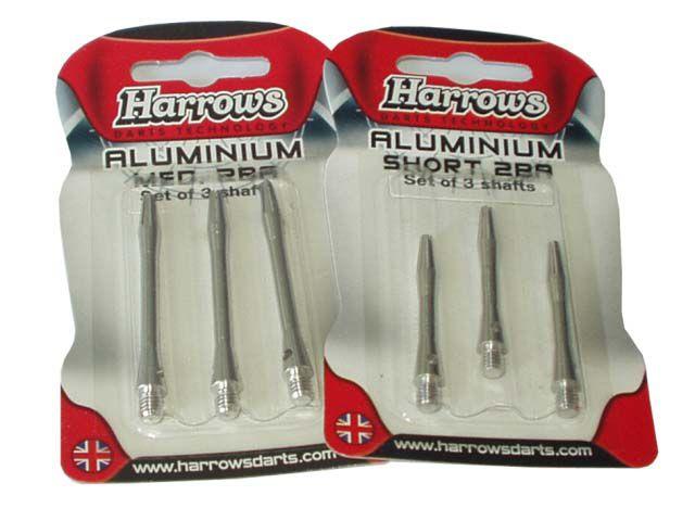 Harrows ALUMINIUM HARROWS 5872 Náhradní násadky na šipky vel.M