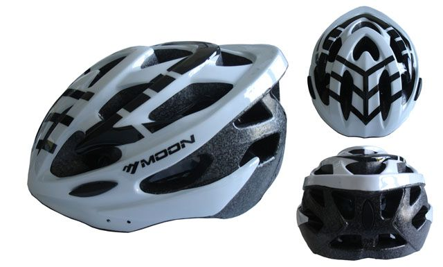Cyklistická helma velikost L  - bílá