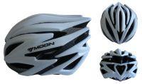 Cyklistická helma velikost M (55-58 cm) - stříbrná