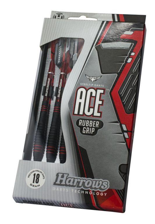 Šipky s plastovými hroty – HARROWS SOFT ACE