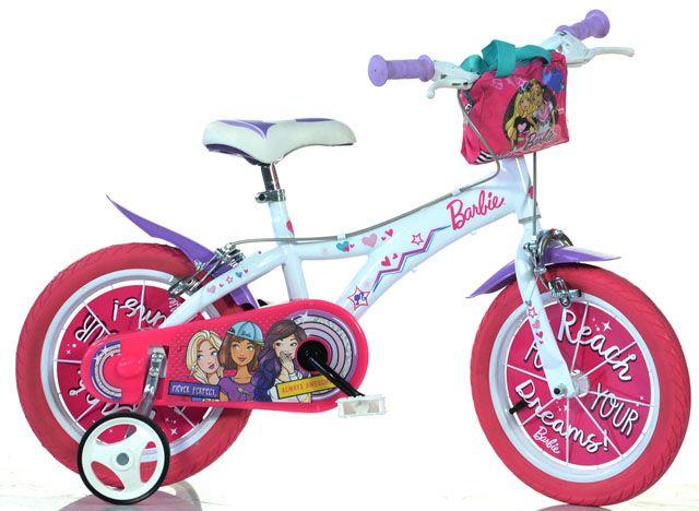 """Dětské kolo Barbie 16"""" - růžové"""
