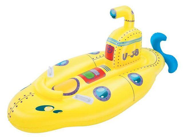 Nafukovací lehátko – ponorka