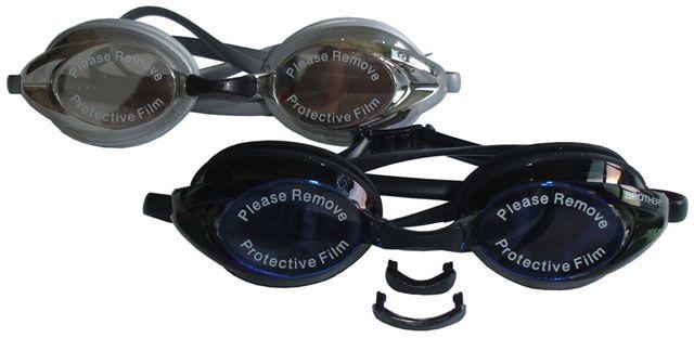 Silikonové plavecké brýle RACER