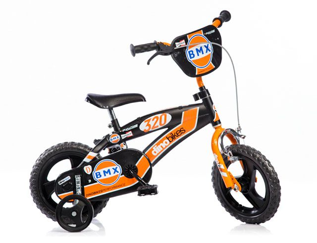 Dětské kolo Dino BMX černá 12