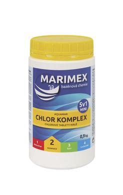 Bazénová chemie Chlor Komplex Mini 5v1 - 0,9 kg