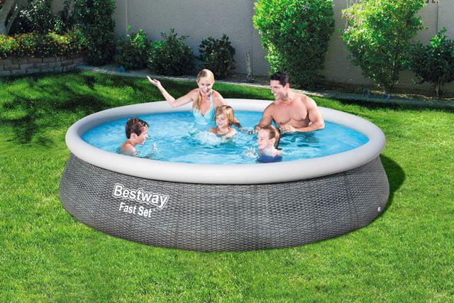 Bazén samostavěcí - 396 x 84 cm s filtrem