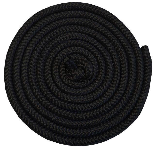 Gymnastické švihadlo - 3 m, černé