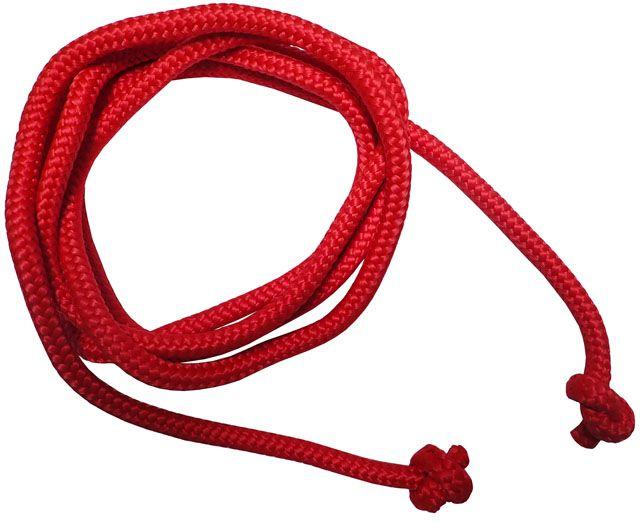 Gymnastické švihadlo – 3 m, červené