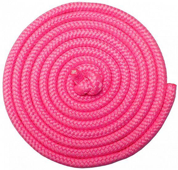 Gymnastické švihadlo - 3 m, růžové
