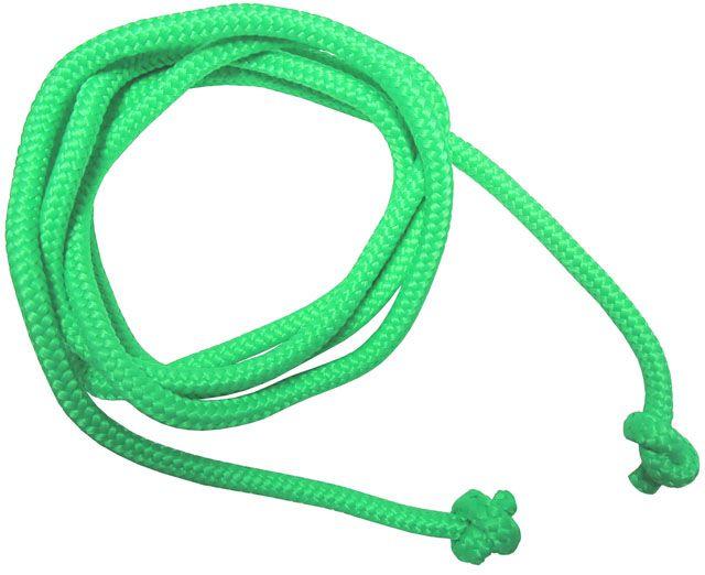 Gymnastické švihadlo – 3 m, zelené