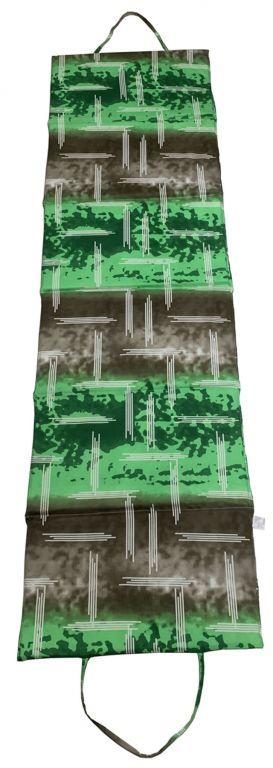 Skládací plážové lehátko, zelené