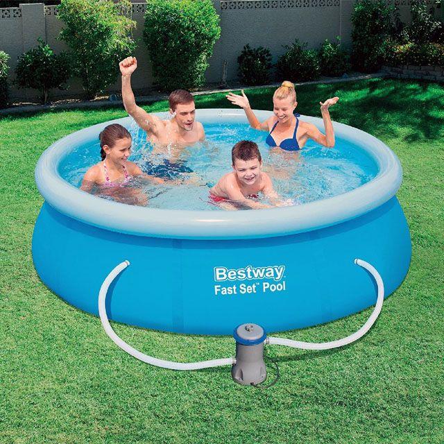 Bestway  Samostavěcí bazén 244x66cm s filtrací