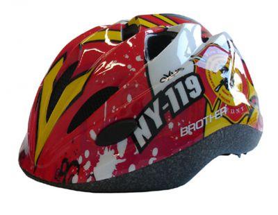 Cyklistická dětská helma červená velikost S