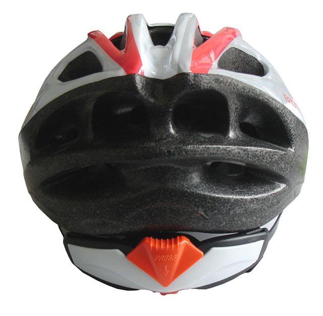 Cyklistická helma červená/černá L