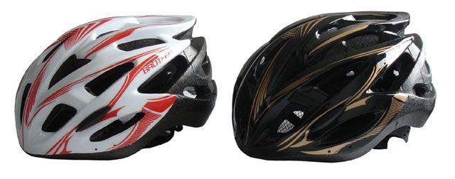 Cyklistická helma bílá/černá velikost M (56-58cm)