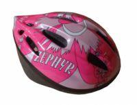 Helma cyklistická a pro inline bruslení dětská s potiskem vel.M (52-56cm)