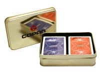 Poker karty Copag Výroční sada, 100% plast