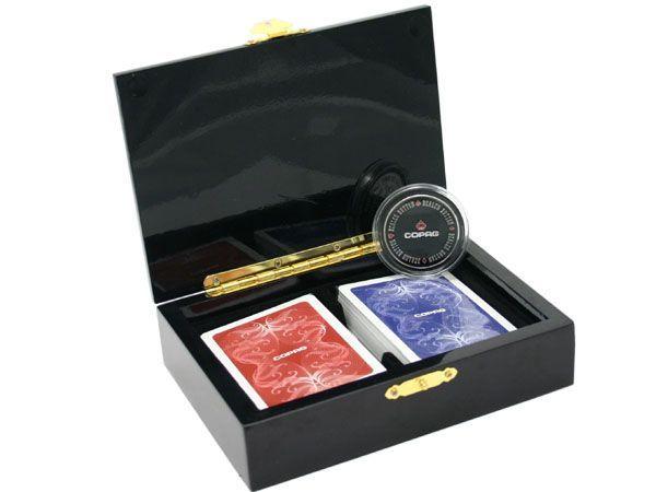 Poker karty Copag Limitovaná Edice v kazetě, 100% plast