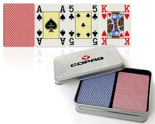 Poker karty Copag Letní edice, 100% plast