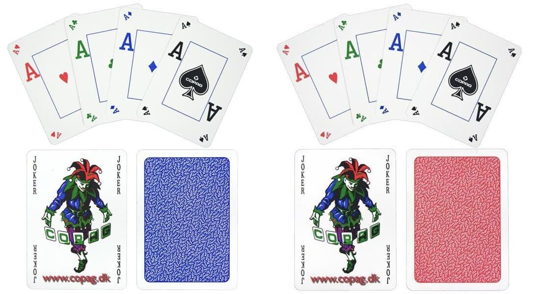 Poker karty Copag Podzimní edice, 100% plast